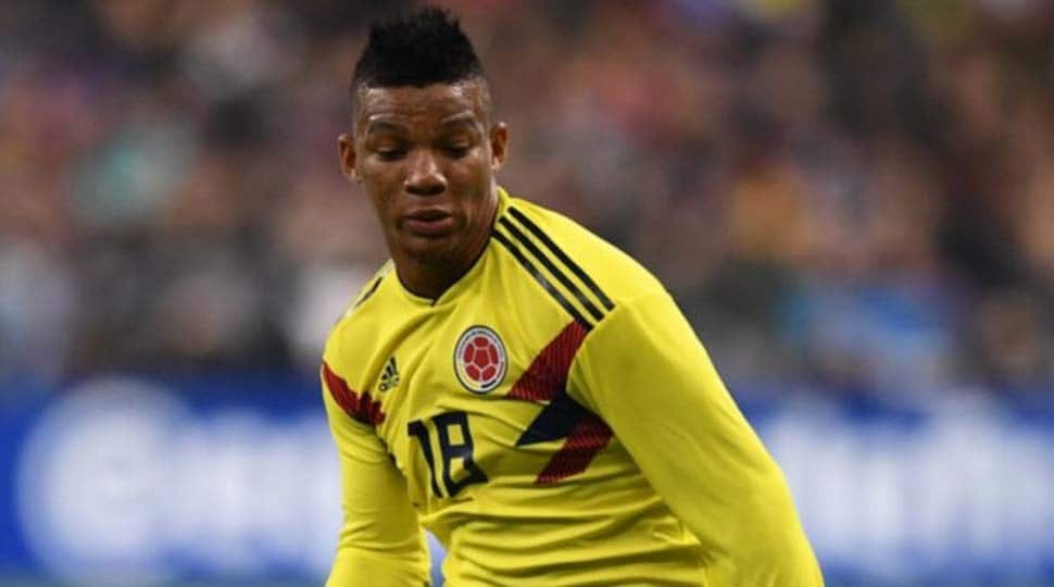 Colombia international full-back Frank Fabra to miss World Cup