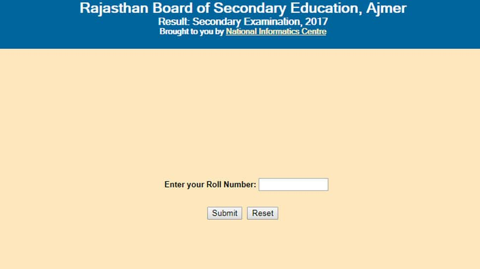 RBSE Class 10 Matric result 2018 declared at rajeduboard.rajasthan.gov.in and rajresults.nic.in, Steps to check Matric scores