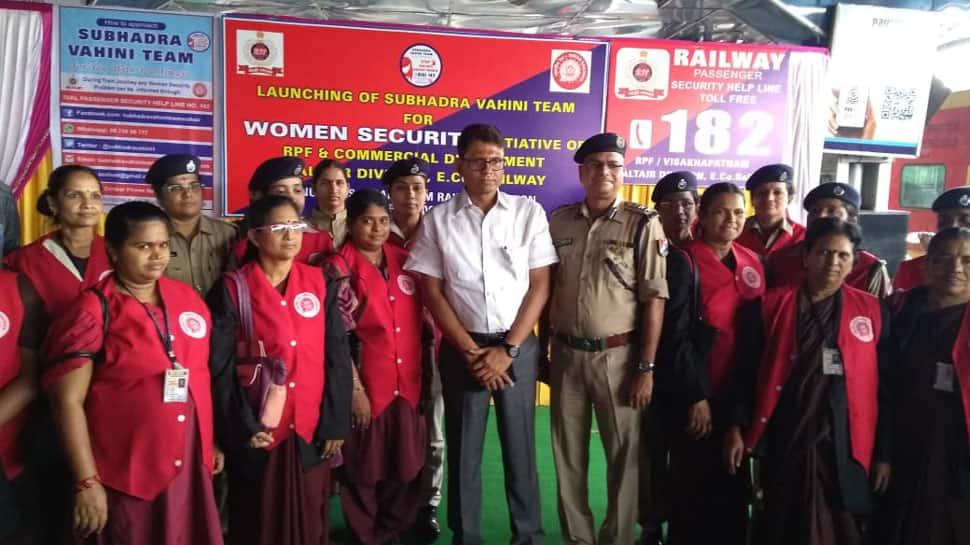 Charlie's Angels: Visakhapatnam railway station launches all-women railway security squad Subhadra Vahini