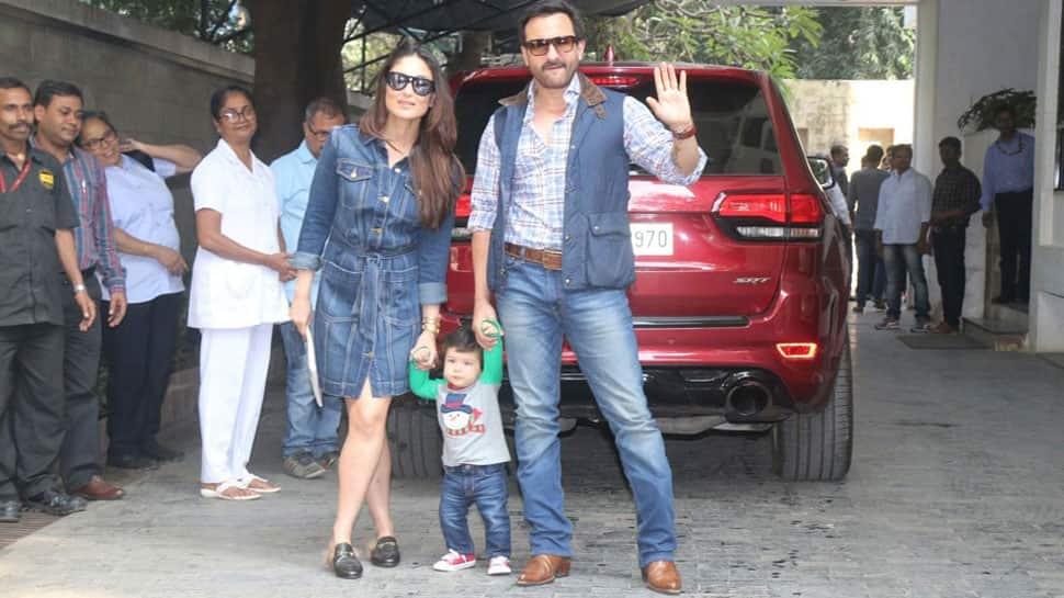 Kareena Kapoor-Saif Ali Khan enjoy lunch date in London but we are missing Taimur!