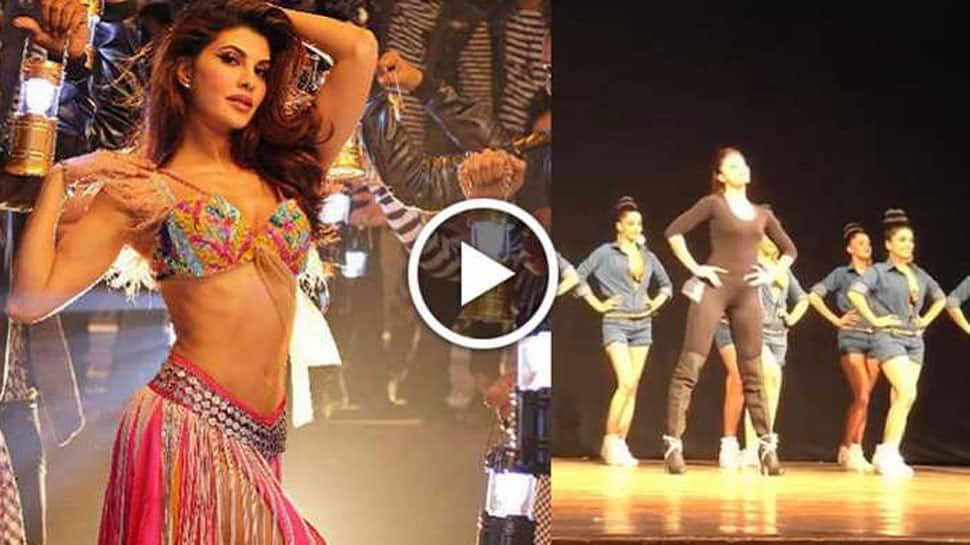 Jacqueline Fernandez dances to 'Kick' song, preps-up for Salman Khan's Da-bangg tour—Watch