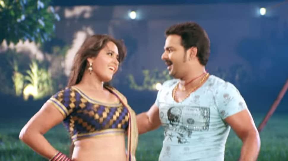 Bhojpuri power star Pawan Singh-Kajal Raghwani's sizzling song 'Chhalakata Hamro Jawaniya' sets YouTube on fire! Watch