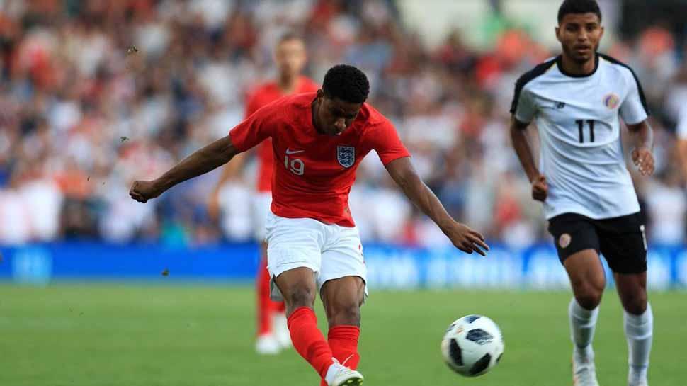 England's Marcus Rashford suffers injury scare ahead of FIFA World Cup opener