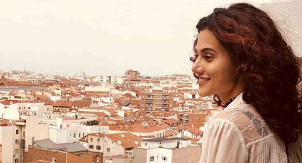 Taapsee Pannu starts shooting for Badla, to share screens space with Amitabh Bachchan