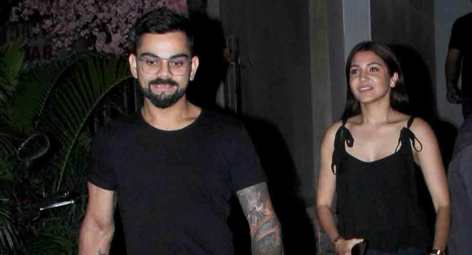 Anushka Sharma enjoy romantic dinner date with hubby Virat Kohli — Check out their photos