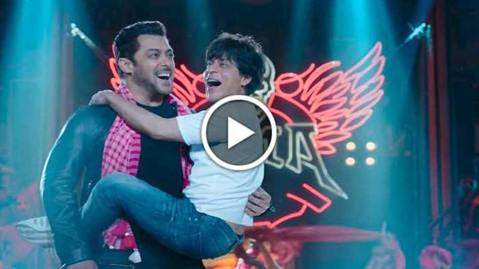 Zero Eid teaser: Shah Rukh Khan-Salman Khan's desi dance moves are mind-blowing! Watch