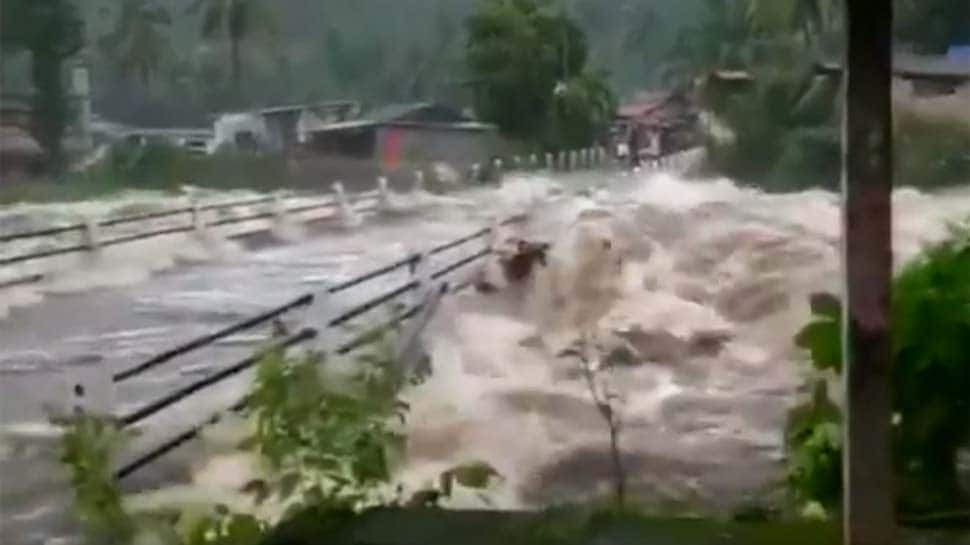Watch: Massive floods cause havoc in Kerala, 5 dead, several trapped