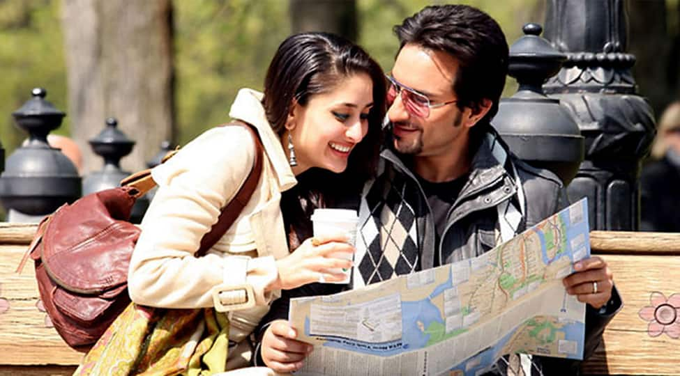 Kareena Kapoor, Saif Ali Khan shoot for an ad in London, pictures go viral-See inside
