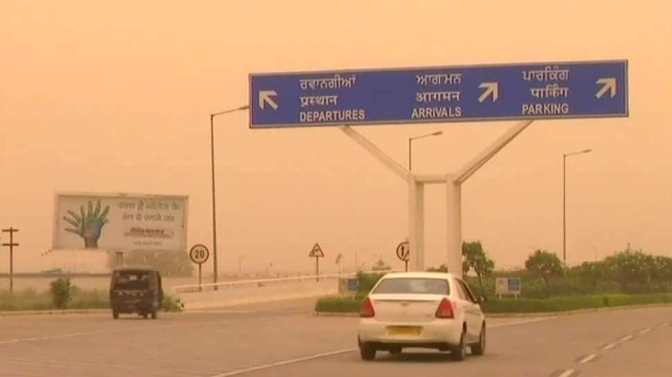 Chandigarh remains hidden under blanket of dust, rain unlikely till end of June