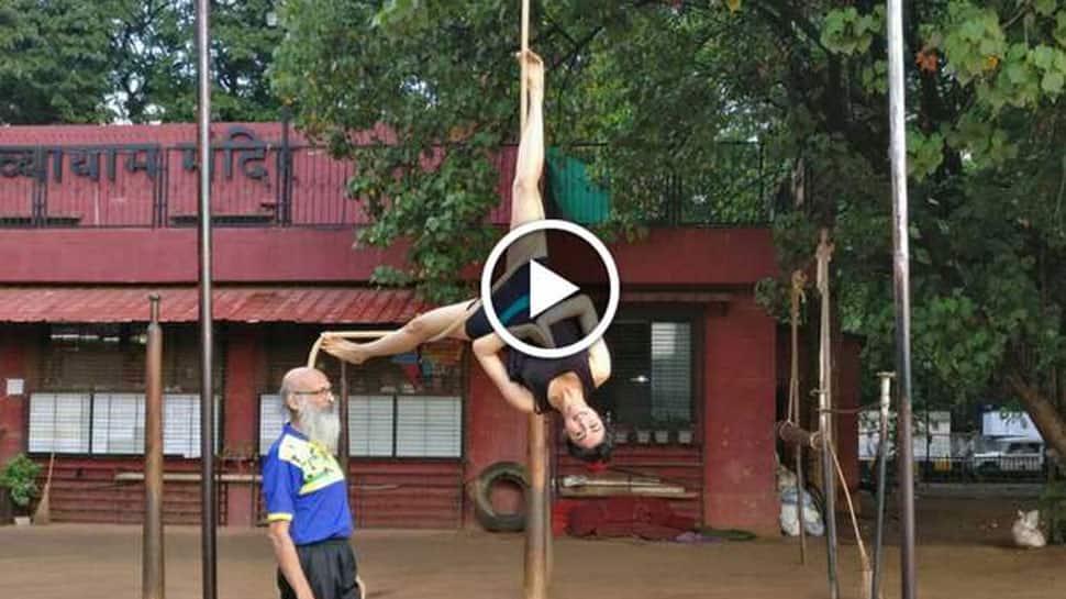 Adah Sharma flaunts her bikini body, practices Mallakhamba to stay fit—Watch