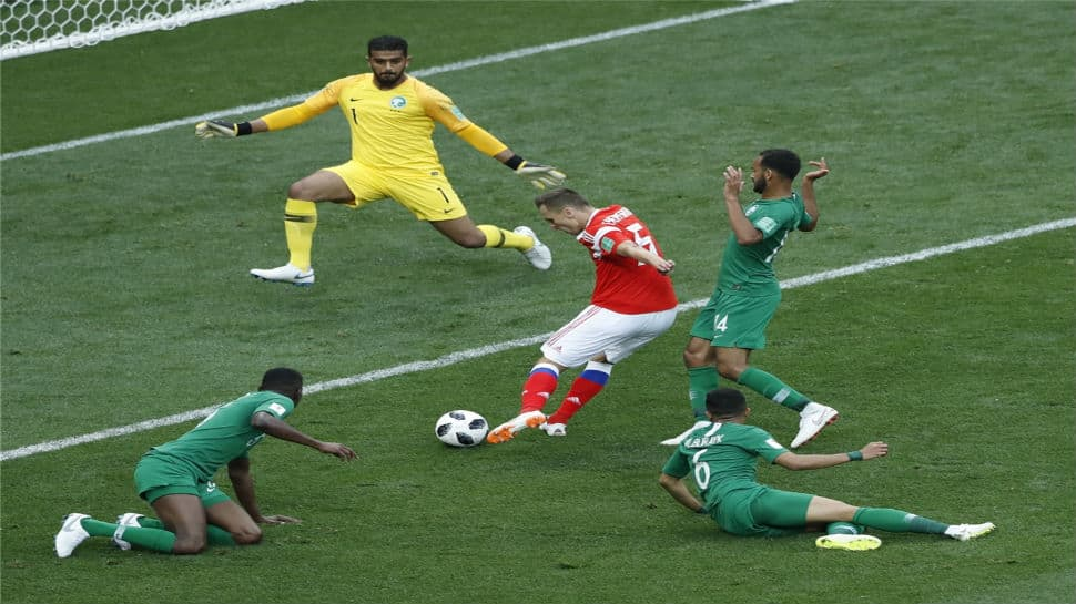 FIFA World Cup 2018: Saudi Arabia players to be penalised for 0-5 rout by Russia