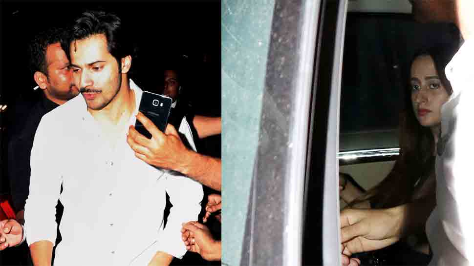 Varun Dhawan enjoys a dinner date with rumoured girlfriend Natasha Dalal — Pic proof