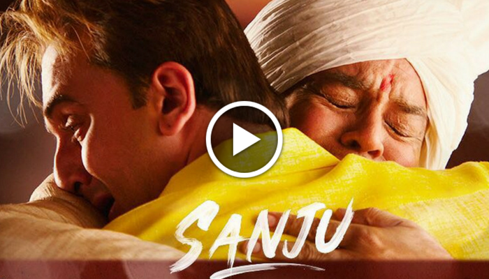 Sanju: Makers reveal emotional moment from the film on Father's day—Watch