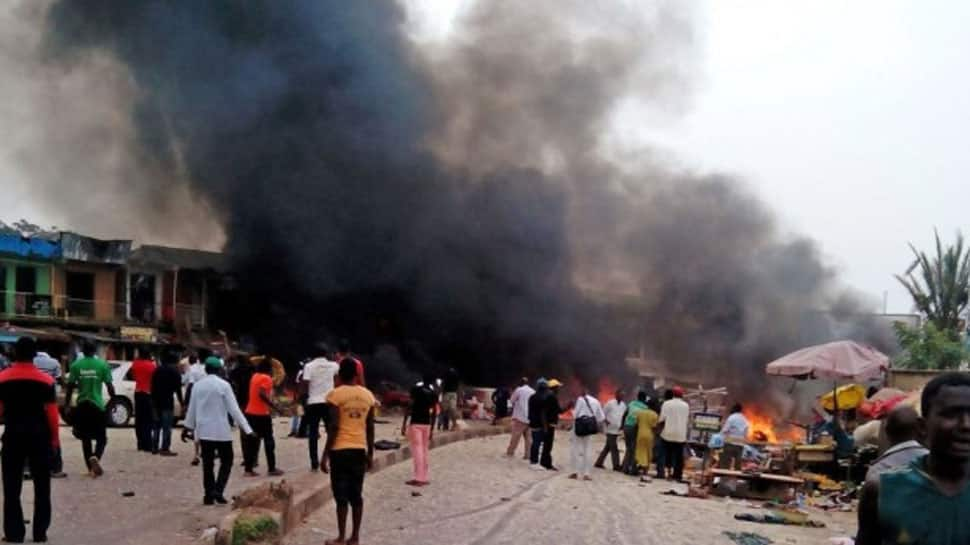Suicide blasts in north east  Nigeria kill at least 31:Official