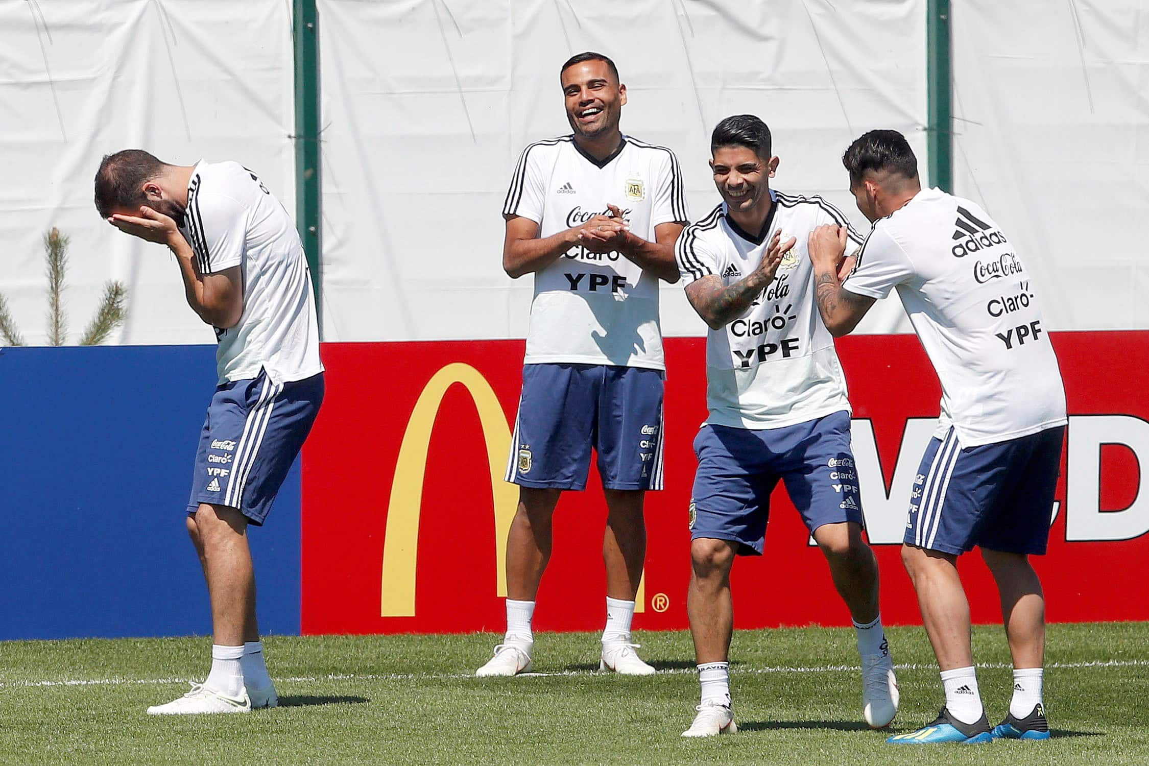 Messi, Argentina starters work out in gym after draw with Iceland