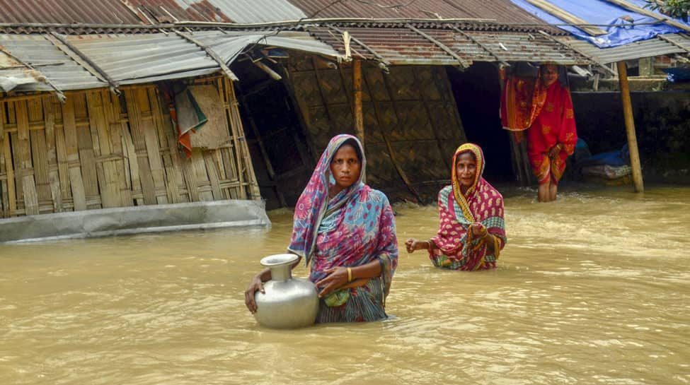 Floods wreck North East: 21 dead, 4.5 lakh people affected across 6 districts