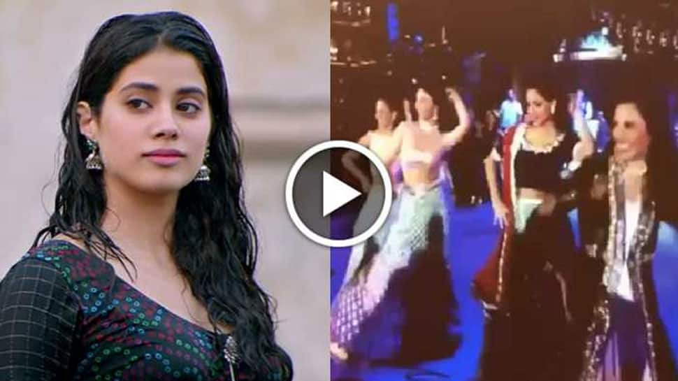 Watch Janhvi Kapoor dancing to 'Jhallah' song in this throwback video!