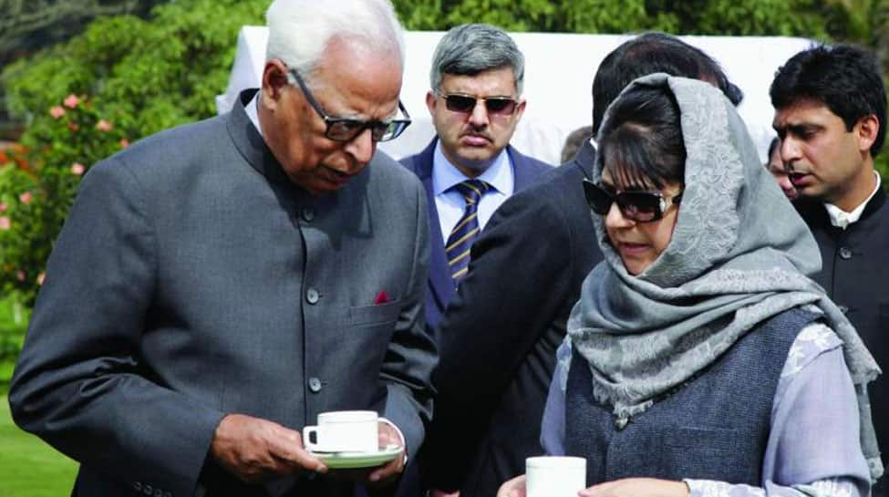 President Ram Nath Kovind approves Governor's rule in J&K with immediate effect