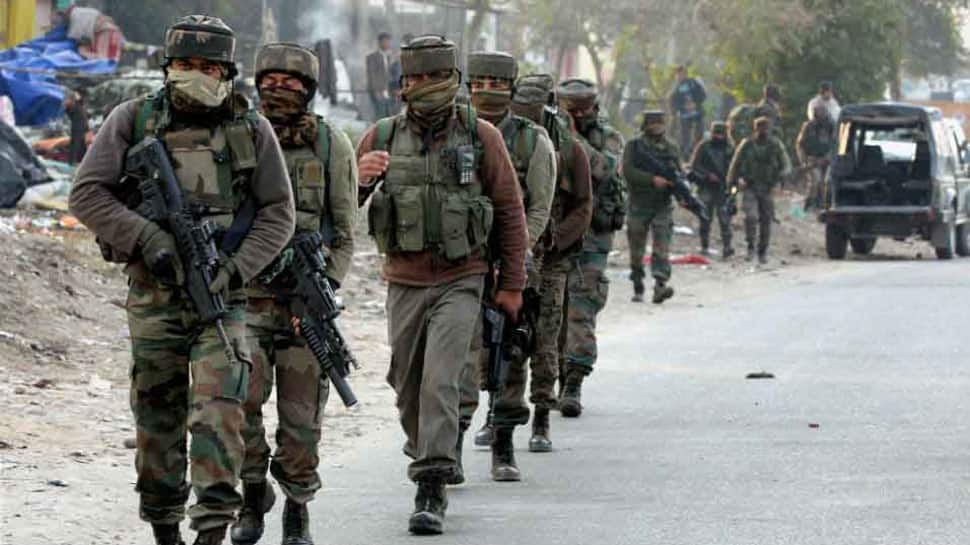 3 terrorist killed, 5 security men injured in Jammu & Kashmir gunfight