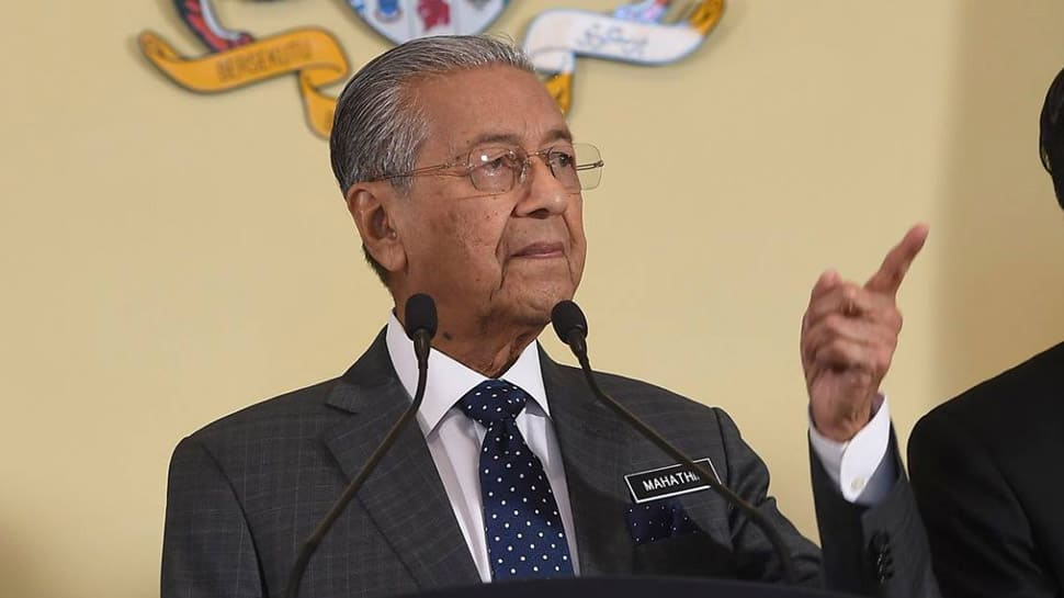 Remove warships to reduce tensions in South China Sea: Malaysian PM Mahathir Mohamad