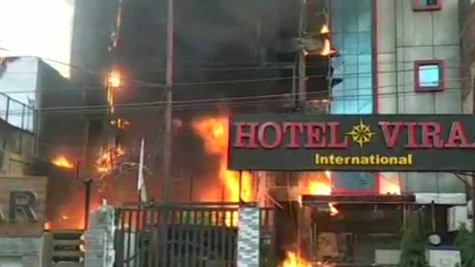 Lucknow hotel fires: Two arrested, inquiry ordered