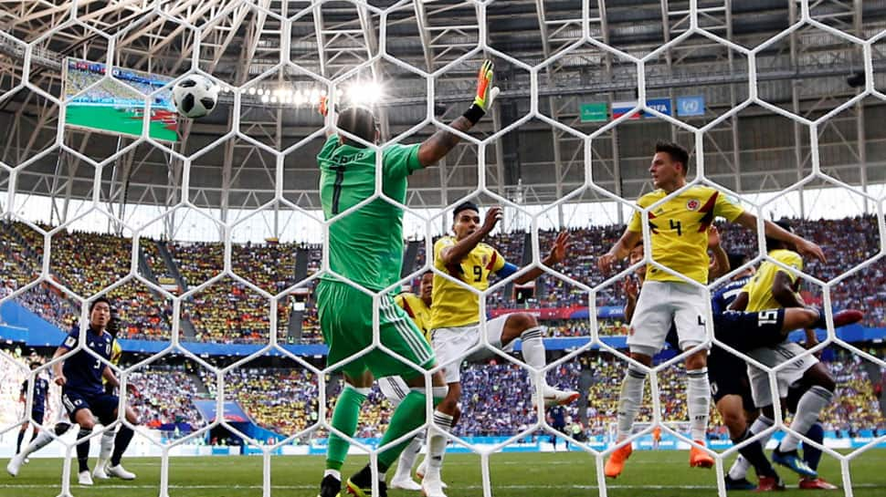 FIFA World Cup 2018: Japan puts damper on Colombia's high hopes for World Cup debut with 1-2 win