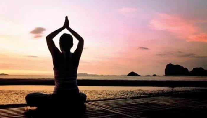 Madhya Pradesh cop gains accolades for performing yoga asanas inside water