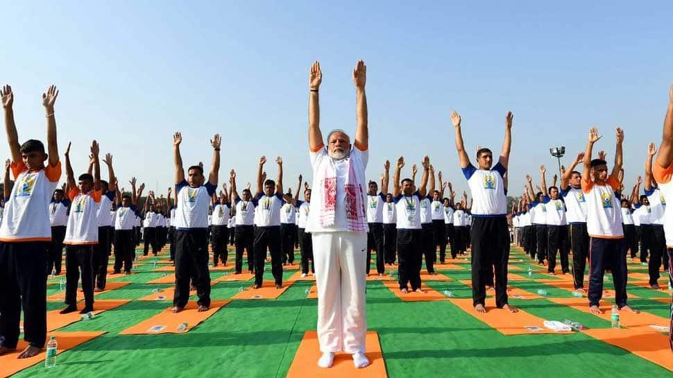 PM Narendra Modi promotes Yoga for political gains, alleges Congress