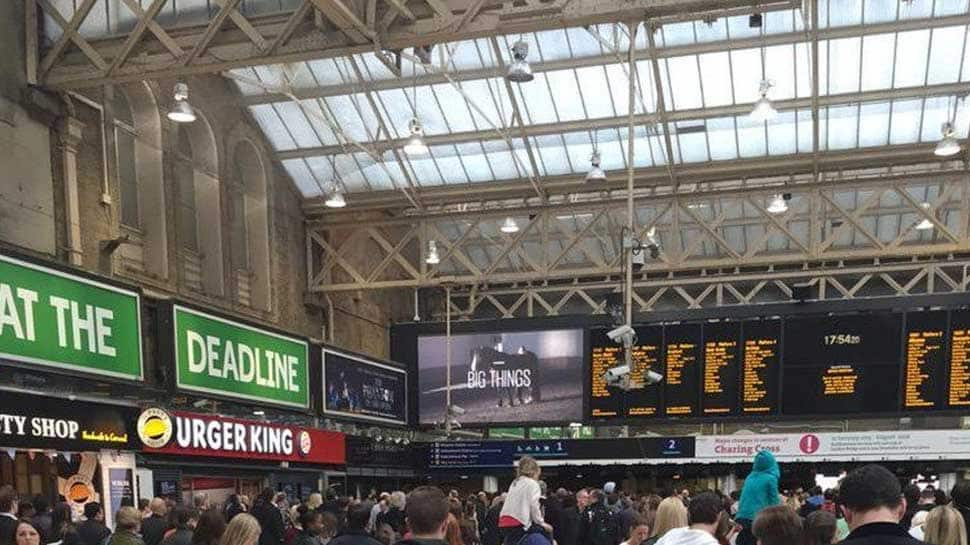 Man detained after bomb scare at London's Charing Cross rail station