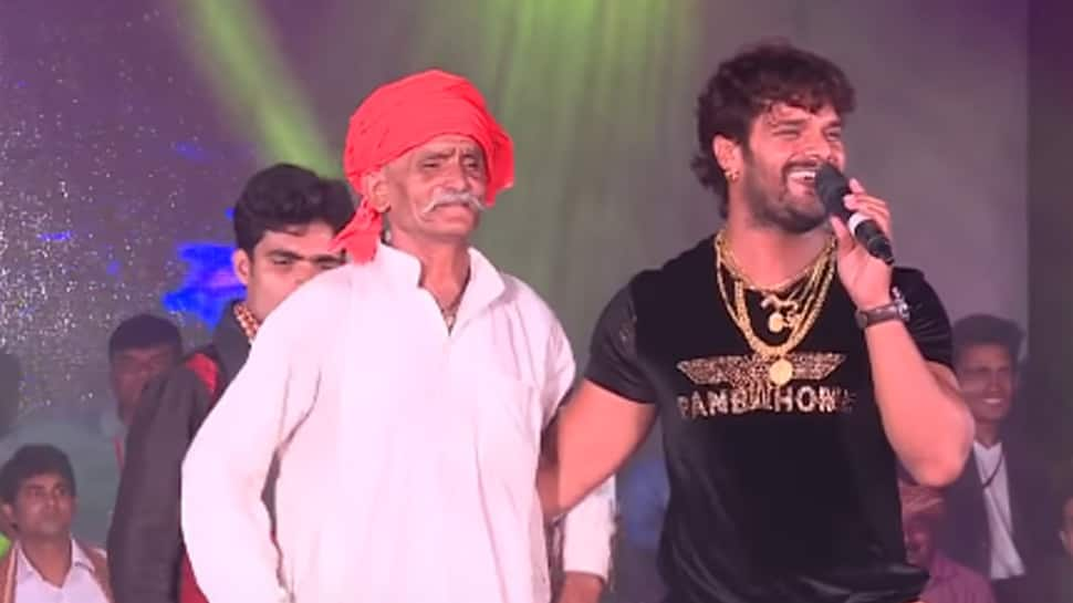 When Bhojpuri superstar Khesari Lal Yadav's father accompanied him to his first stage show—Watch