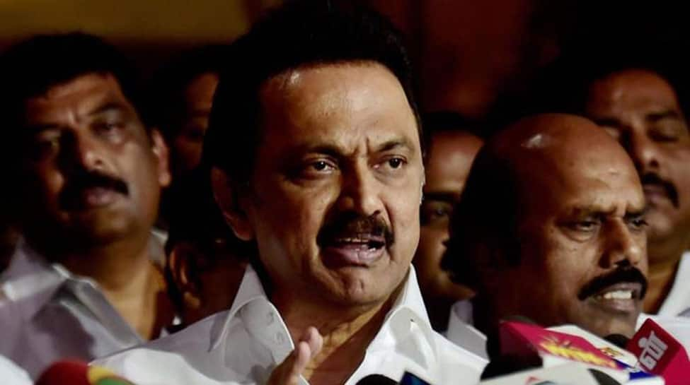 DMK's MK Stalin detained in Trichy for protesting against Tamil Nadu Governor Banwarilal Purohit