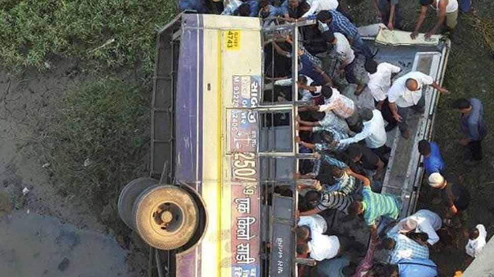 Gujarat: Seven killed, 24 injured as truck falls into rivulet