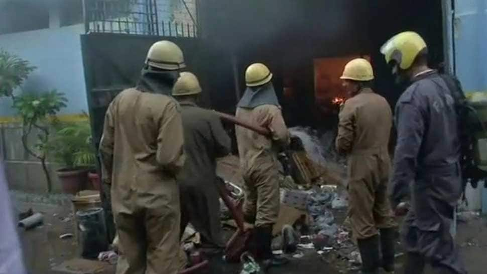 Fire breaks out at factory in Delhi's Udyog Vihar, 10 fire tenders rushed