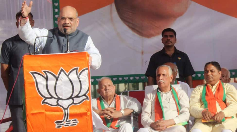 Amit Shah lashes out at Congress, says BJP will never allow separation of J&K from India