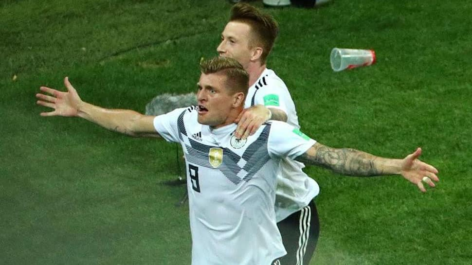 10-man Germany stun Sweden with late winner, keep FIFA World Cup 2018 hope alive