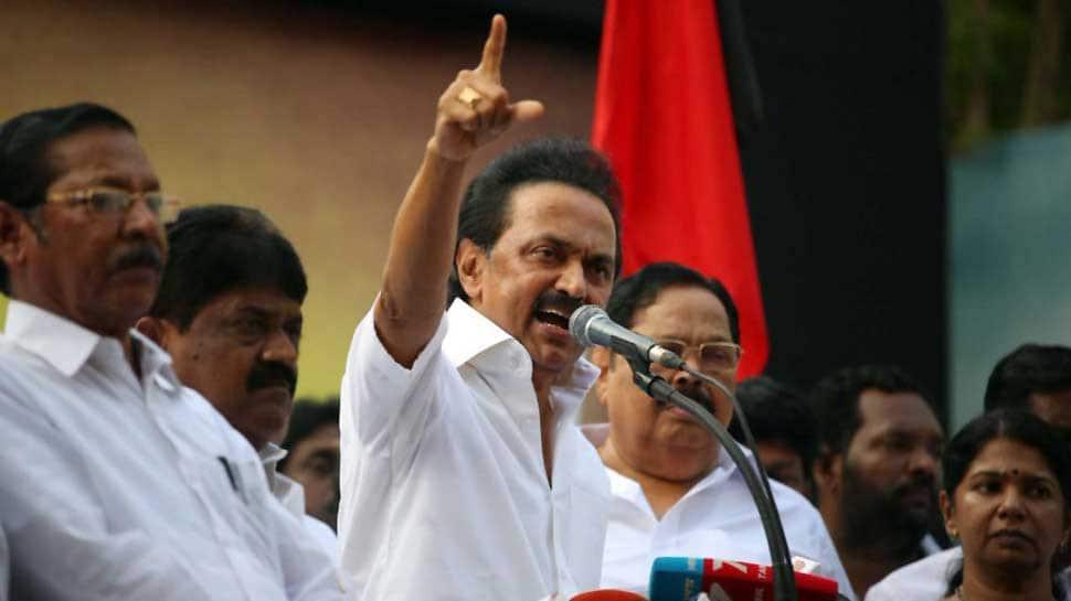 Case registered against DMK's MK Stalin for protesting against Tamil Nadu Governor Banwarilal Purohit