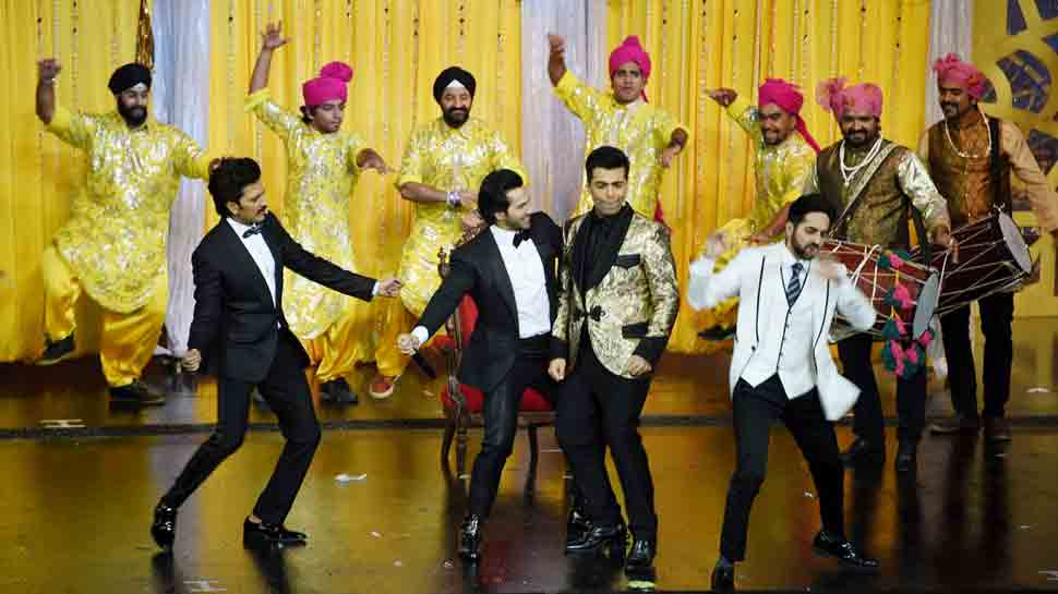 IIFA 2018: Karan Johar steals the show with his stellar dance performance — Watch video