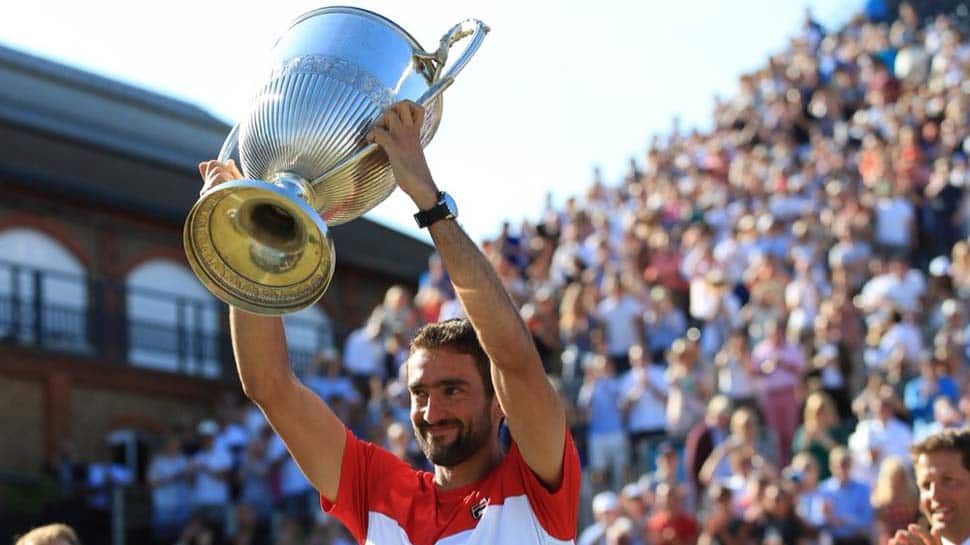 Queen's Club Championship: Marin Cilic battles past Novak Djokovic to claim title