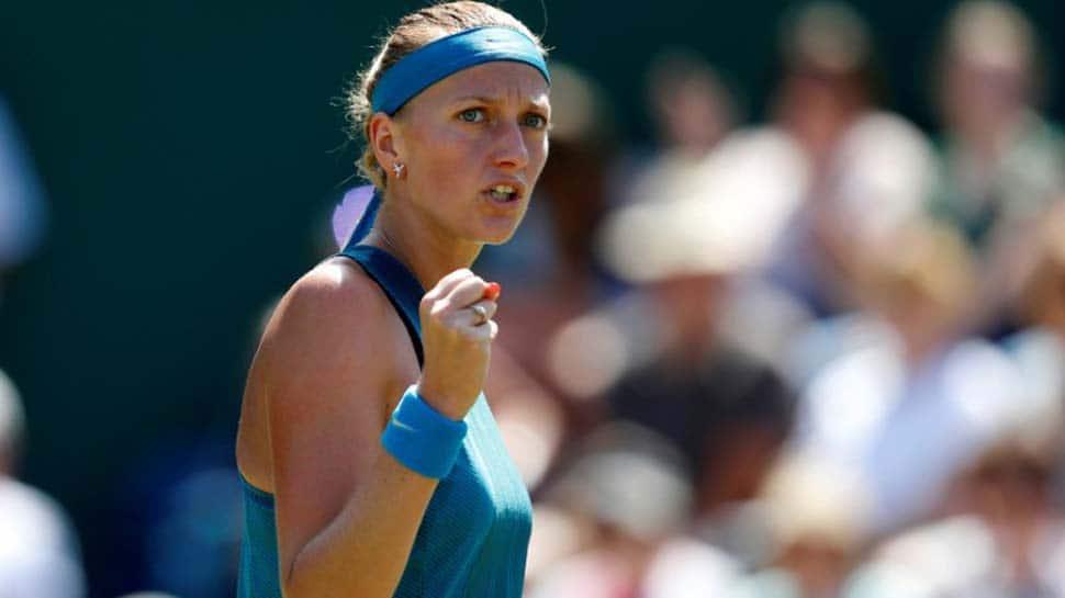 Wimbledon: Petra Kvitova sees off Magdalena Rybarikova to retain Birmingham title
