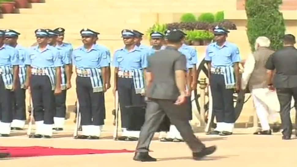 PM Modi inquires about health of IAF guard who collapsed at Rashtrapati Bhavan