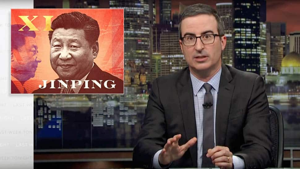 China blocks HBO over John Oliver's video on Xi Jinping and Winnie the Pooh