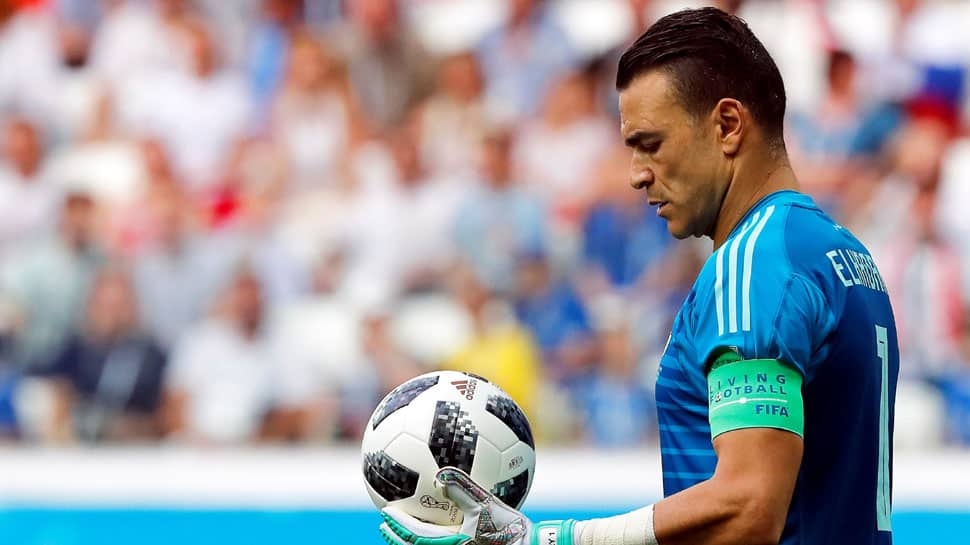 Egypt goalkeeper Essam El Hadary 45, becomes oldest player to compete in FIFA World Cup 2018