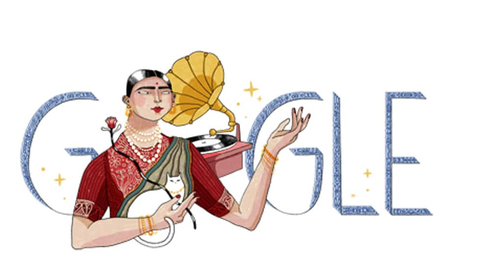 Google Doodle features singer Gauhar Jaan on her 145th birth anniversary