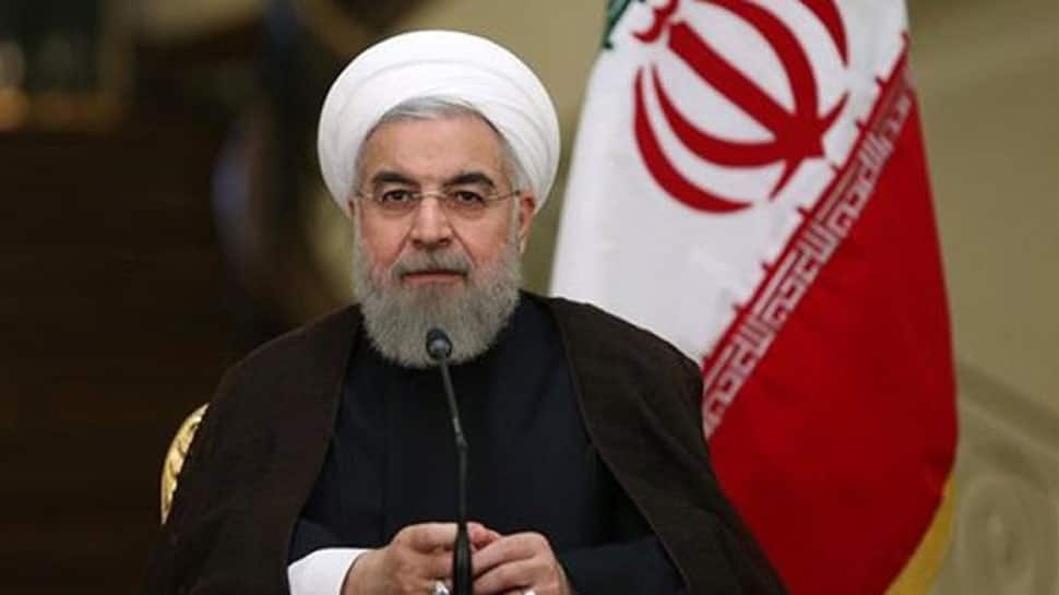 Hassan Rouhani says Iran will not give in to pressure from Donald Trump