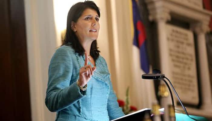 Nikki Haley, highest ranking Indian-American official in Trump administration, on two-day India visit