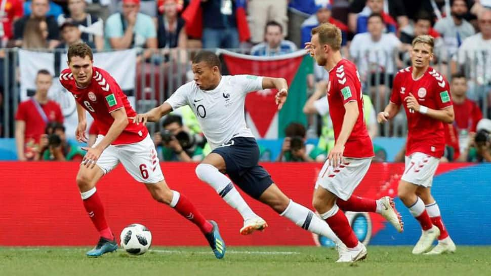 fec9bdfd4ad France top FIFA World Cup 2018 Group C, Denmark second after dull goalless  draw; both in last 16