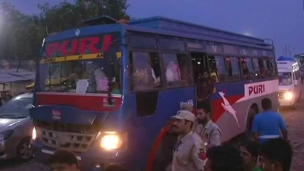 Amarnath Yatra: First batch of pilgrims flagged off amid unprecedented security