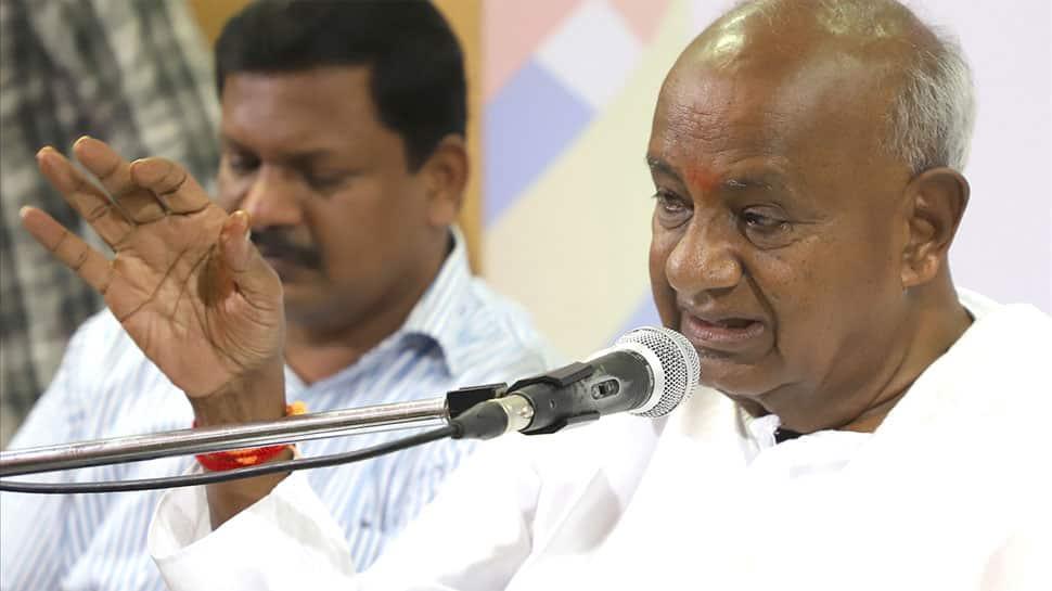 Amid JDS-Congress rift over Karnataka budget, Deve Gowda says government is safe