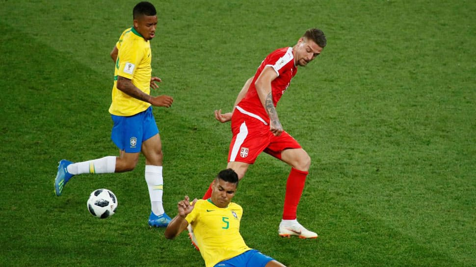 Clinical Brazil enter FIFA World Cup 2018 pre-quarters with 2-0 win over Serbia