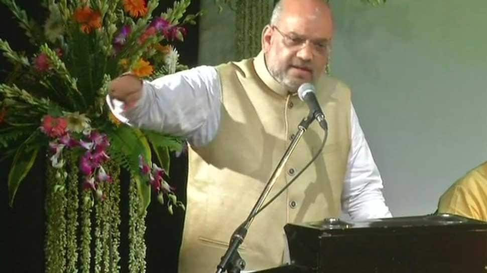 Congress dissected Vande Mataram to appease Muslims, responsible for partition: Amit Shah